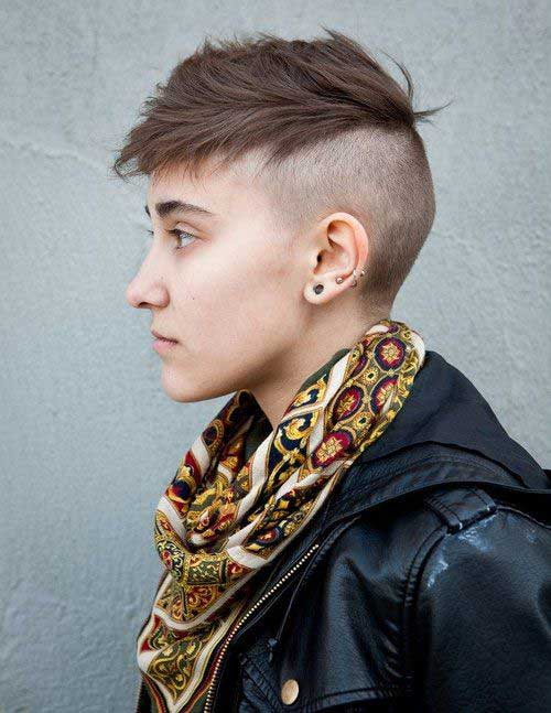 Different Short Side Haircuts