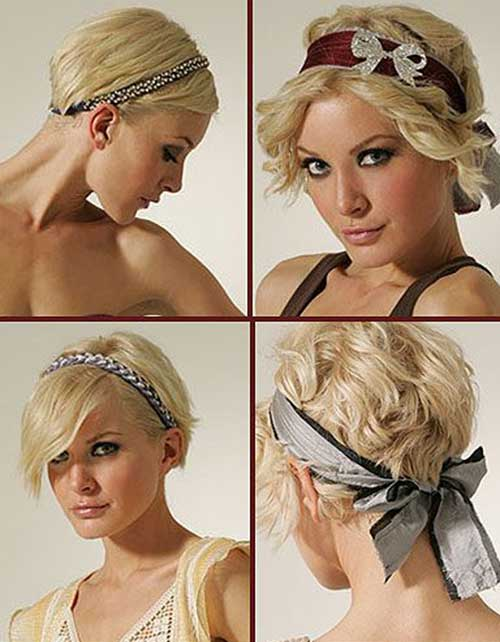 Different Styling Pixie Cut