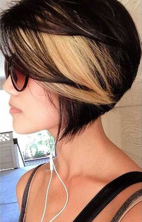 Different Hair Color for Short Hair