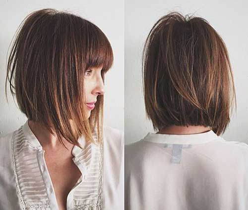 Hairstyles for Short Straight Hair 2015