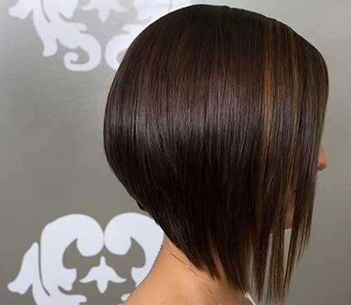 Inverted Fine Bob Hair Style