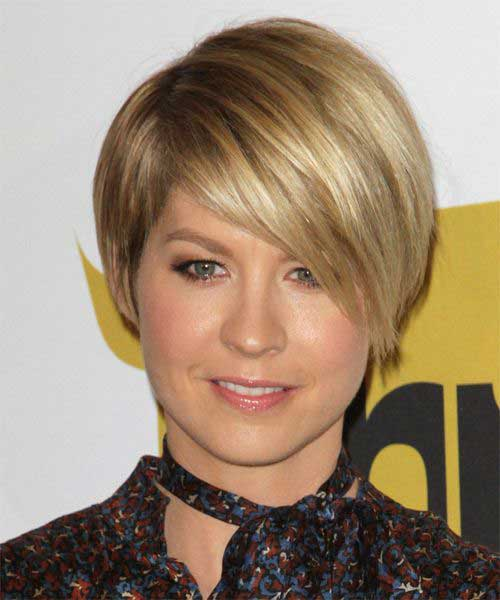 Jenna Elfman Short Straight Hair