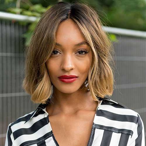 Jourdan Dunn Bob Hair 2015