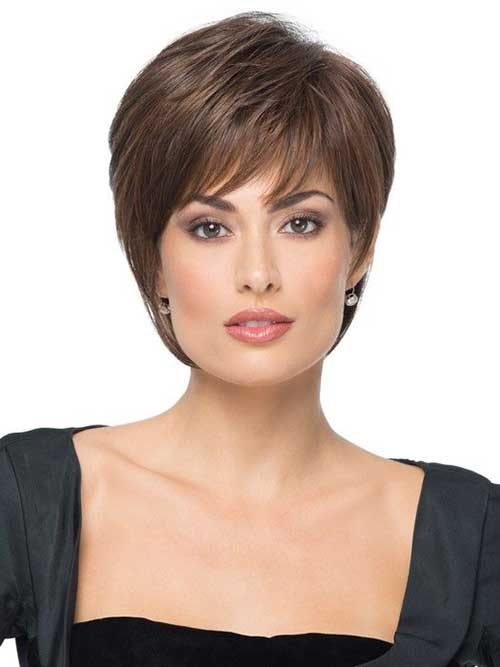 Ladies Short Feather Haircut