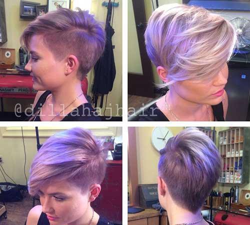 Ladies Short Hair