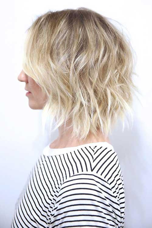 Ladies Short Wavy Hairstyles