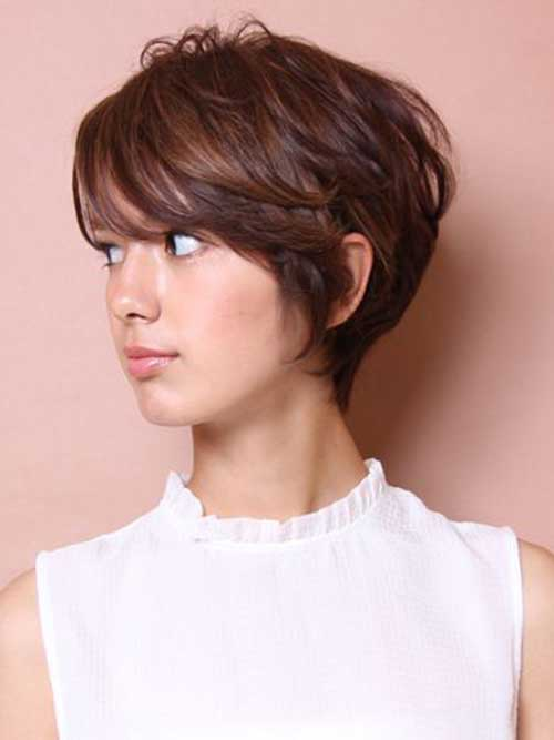 Ladies Thick Short Haircuts