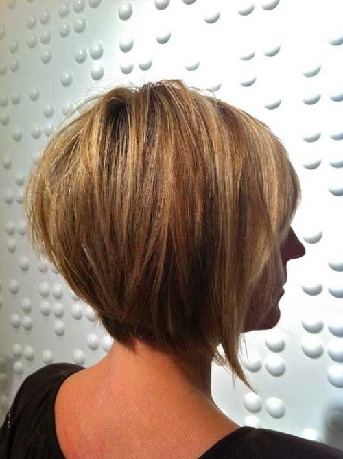 Ladies Layered Bob Haircuts