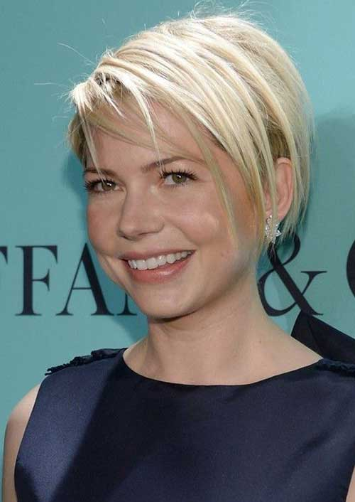 Michelle Williams Short Straight Hair