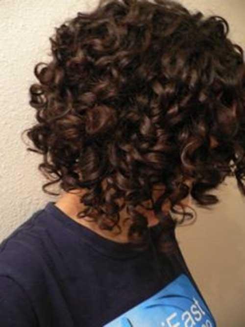 Naturally Curly Bob Haircuts