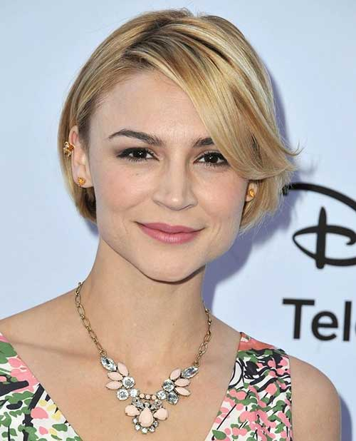 Samaire Armstrong Straight Short Hairstyles