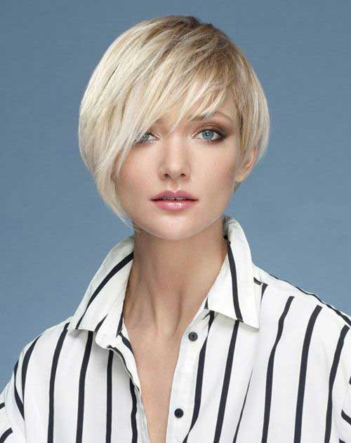 Straight Hair Short Asymmetrical Haircuts