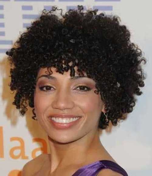Short Curly Black People Hairstyles