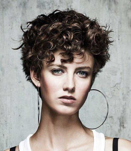 Cute Hairstyles For Curly Thick Short Hair : Short haircuts the best hairstyles for women