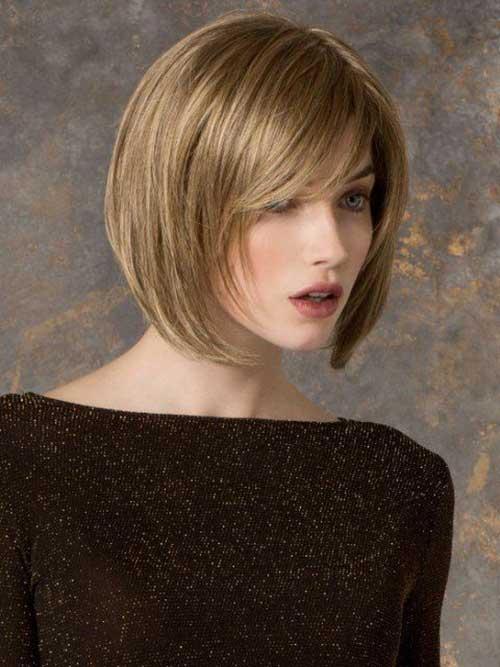 Short Hair For Oval Face