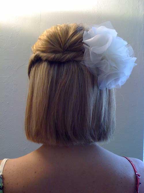 Short Bob Haired Brides