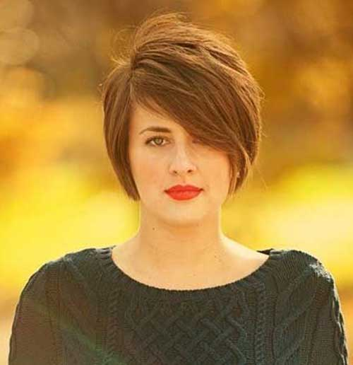 Oval Faces Short Hairstyles 2015 Trends