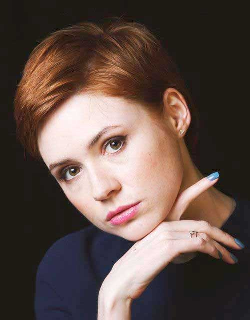Best Short Hairstyles 2015 for Round Faces