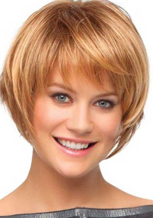 2015 Short Bob Haircuts with Bangs