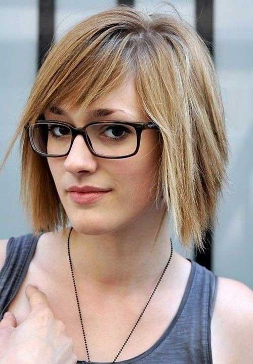Short Straight Layered Hairstyles