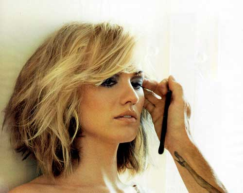 Fantastic Choppy Bob Hairstyles Shoulder Length Hairstyle Pictures Hairstyle Inspiration Daily Dogsangcom