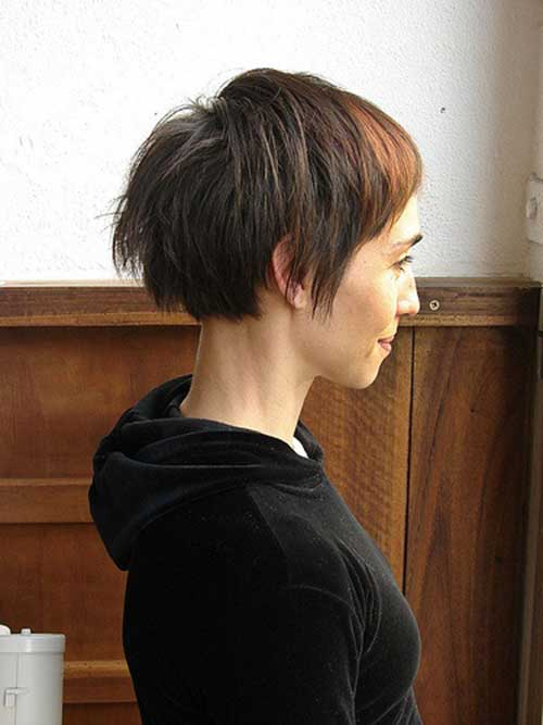 Unique Soft Short Haircut
