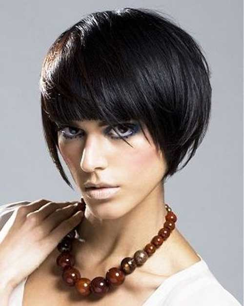 Stylish Chinese Short Bob Hairstyle
