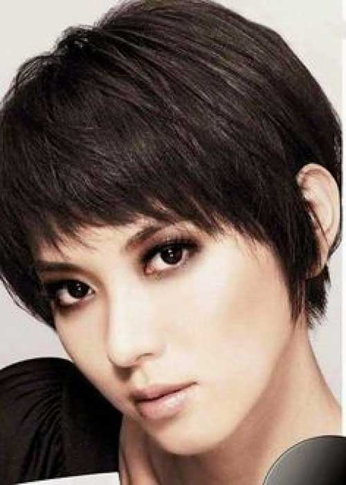 Thick Short Straight Cute Hairstyles