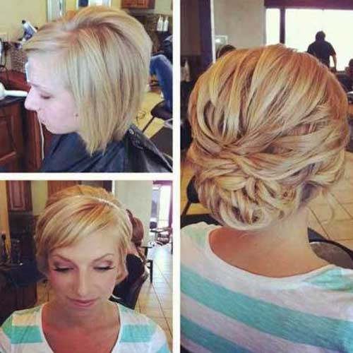Updos for Bobs Hair
