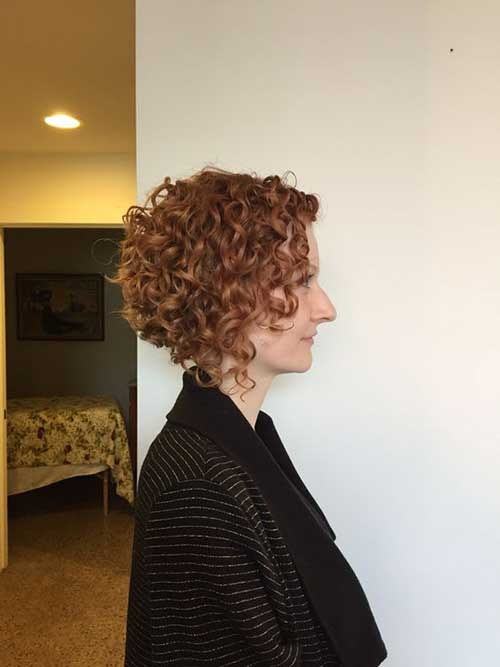 Short Hairstyles for Curly Hair-15