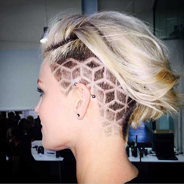 Super Short Haircuts for Girls