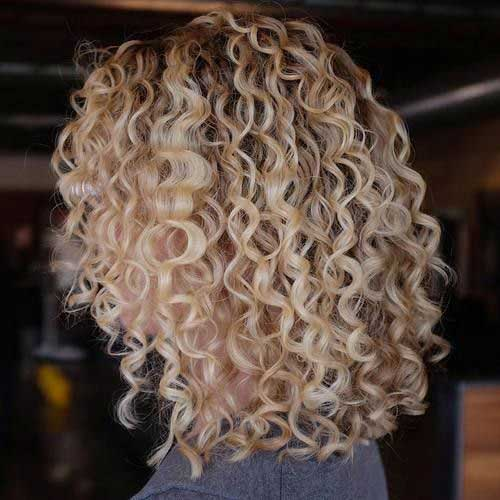 Short Hairstyles for Curly Hair-9