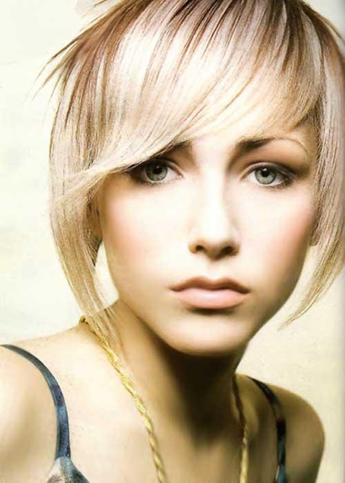 Cute Short Haircuts for Thin Hair-10