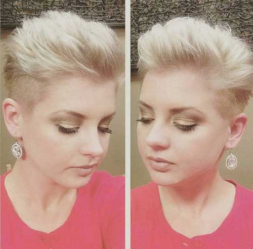 Pixie Hairstyles for Round Faces-10