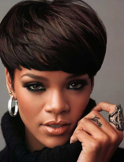 Short Hair for Black Women-11