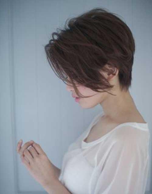 Short Haircut For Long Face