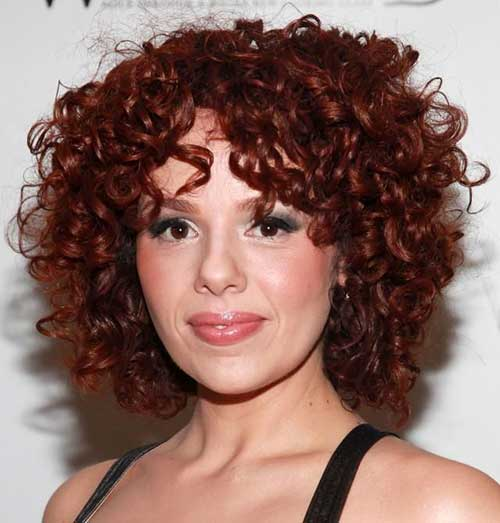 Short Red Curly Hair-13