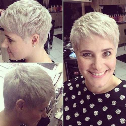 Pixie Hairstyles for Round Faces-14