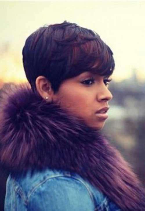Short Hair for Black Women-14