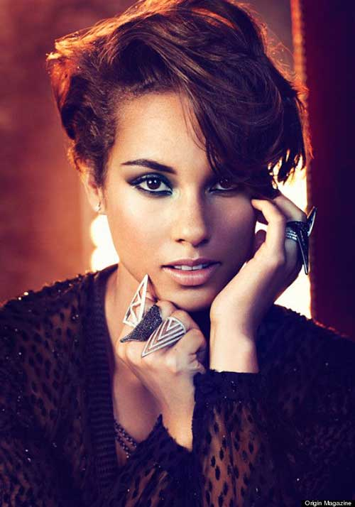 Celebrity with Short Hair-15