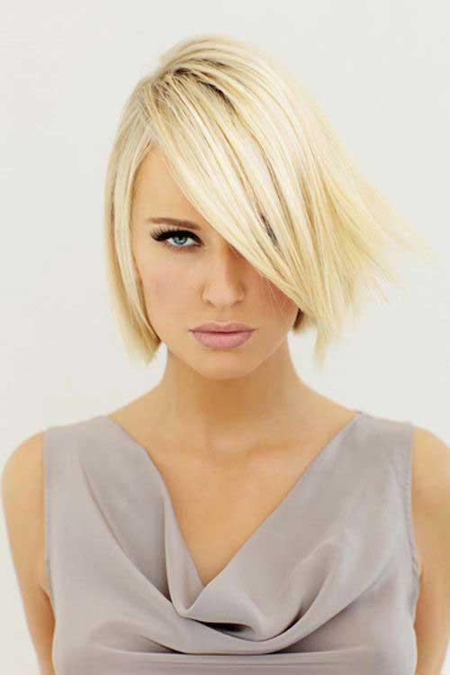 Cute Short Haircuts for Thin Hair-15
