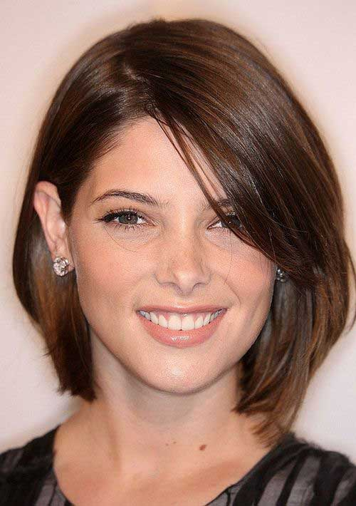 Short Haircuts For Round Faces-16