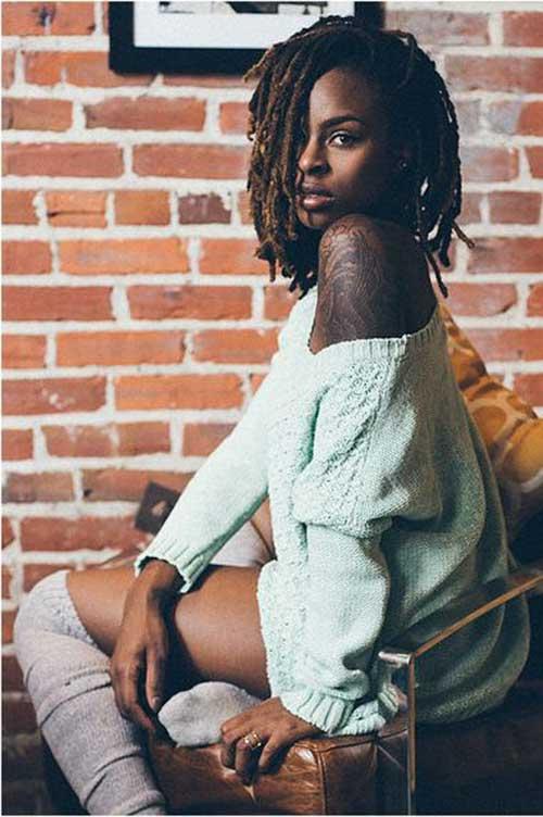 Short Hair for Black Women-17