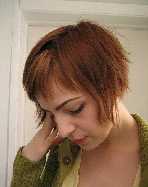 Cute Short Haircuts for Thin Hair-18