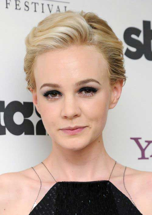 Pixie Hairstyles for Round Faces-18