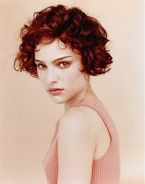 Short Red Curly Hair-19