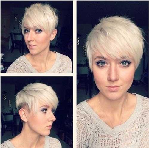 Cute Short Haircuts for Thin Hair-20