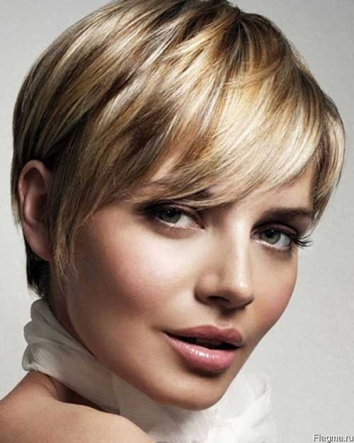 Short Haircuts For Round Faces-20