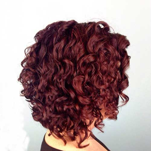 Short Red Curly Hair-20