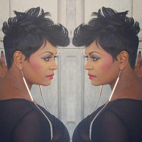 Short Hair for Black Women-21